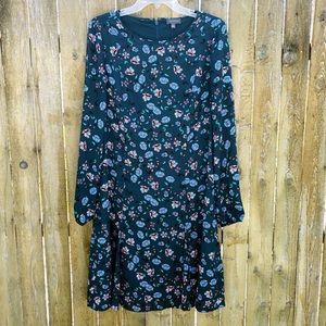 NWT The Limited Long Sleeve Floral Dress Sz 12